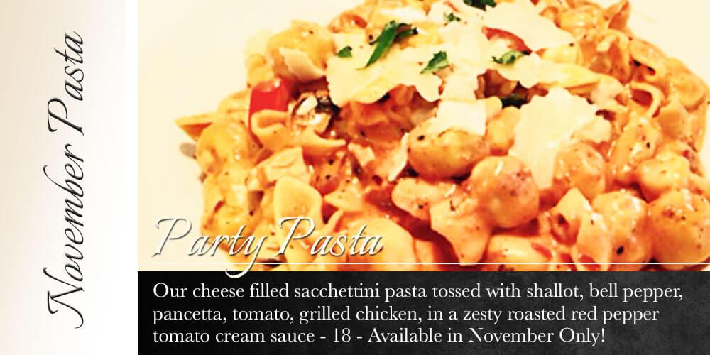 November Pasta