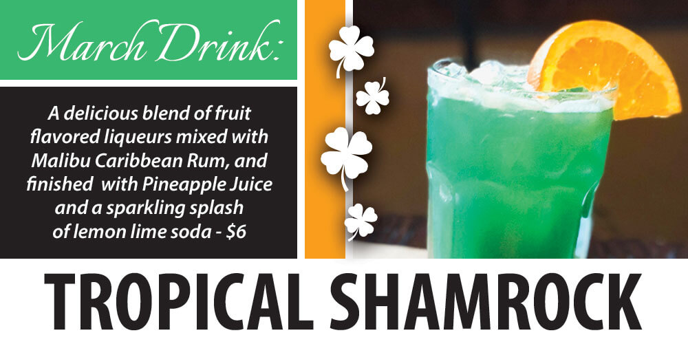 March Drink: Tropical Shamrock
